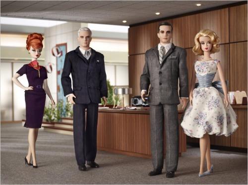 Mad Men Barbie photo