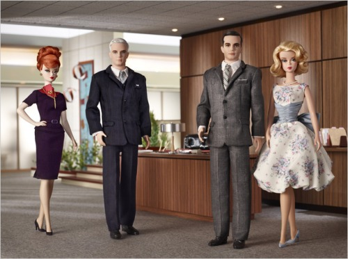 Mad Men Barbie photo