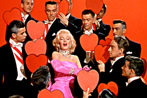 Marilyn Monroe Gentlemen Prefer Blondes Diamonds Are A Girl's Best Friend Photo