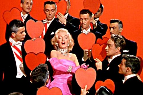 Marilyn Monroe Gentlemen Prefer Blondes Diamonds Are A Girl's Best Friend Photo