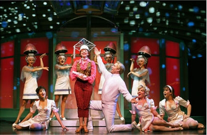"Photo of Grease, ""Beauty School Dropout"" on Broadway"
