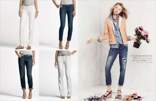 photo from J. Crew Spring 2010 women's catalogue