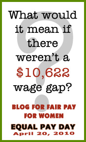 Blog for Fair Pay Day Graphic