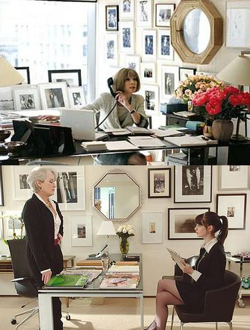 Anna Wintour and Meryl Streep are the Devil Wears Prada photos
