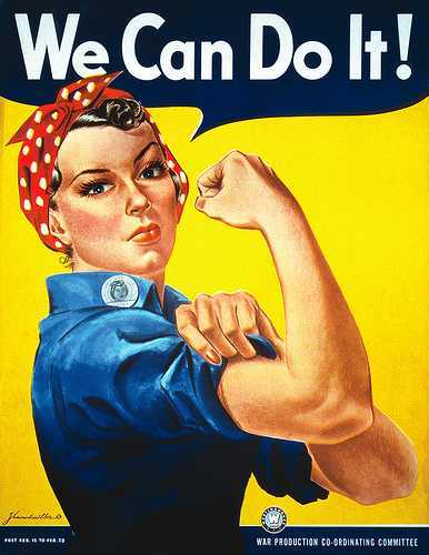 Photo of Rosie the Riveter