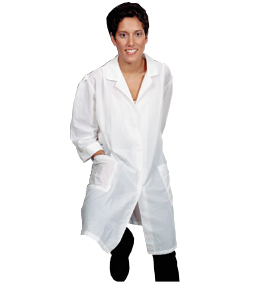 Esthetician's Lab Coat from Salonwear.com photo