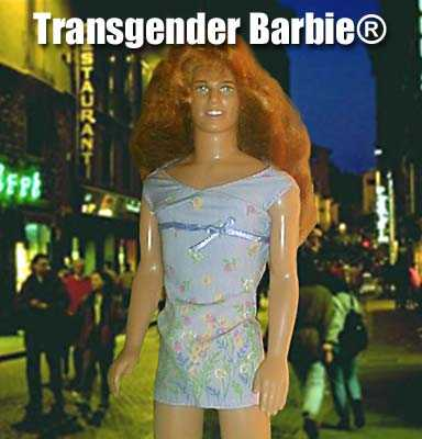 photo of transgender barbie