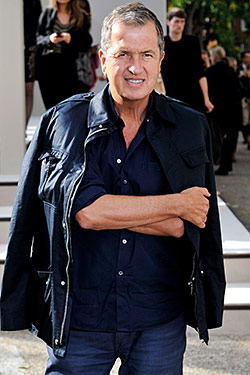 photo of Mario Testino