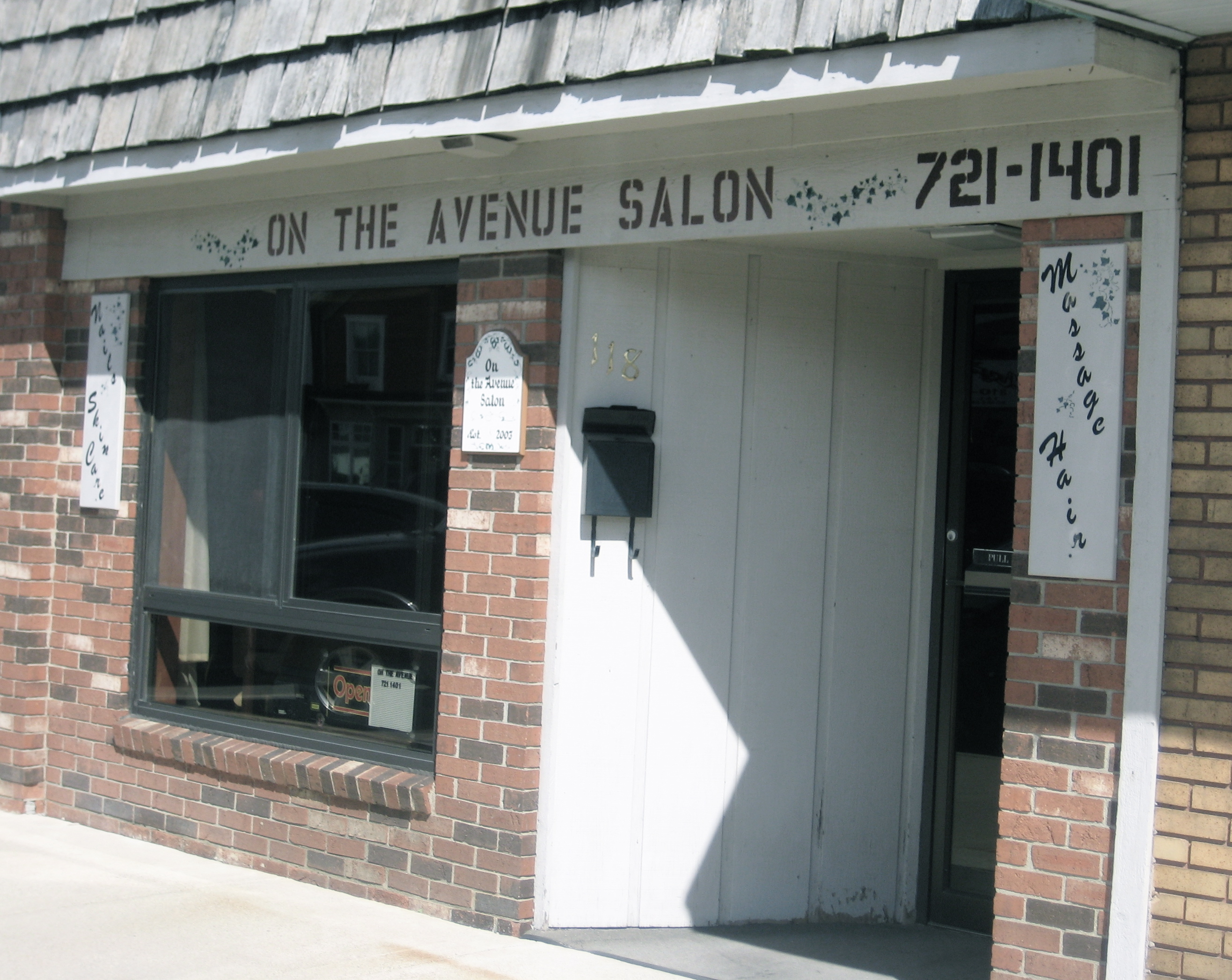 The beauty salons and barber shops of main street usa for Beauty salon usa