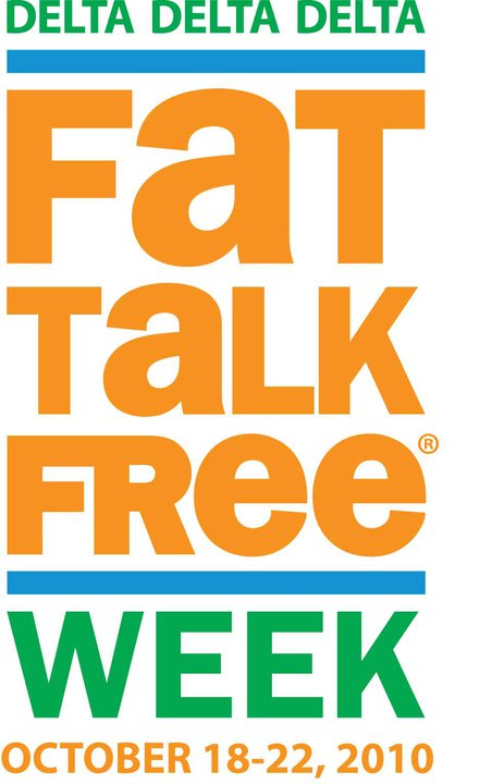 Fat Talk Free Week Logo