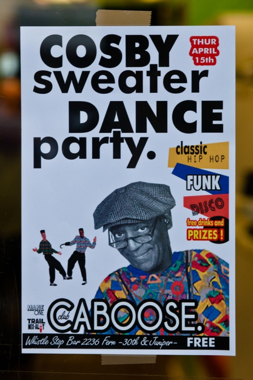 Cosby Sweater Dance Party