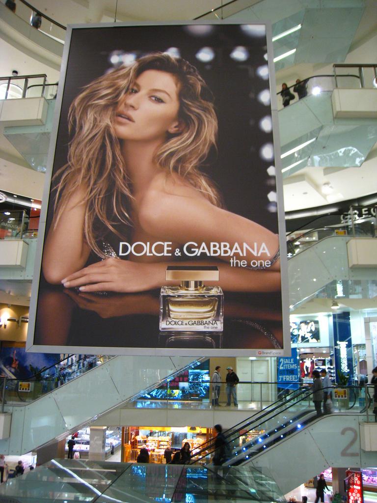 Gisele Perfume Ad