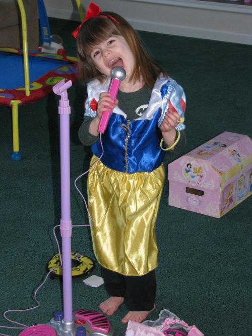 Lorelai as Snow White