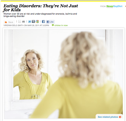 Older women and eating disorders