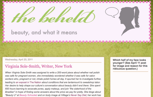 Virginia Sole-Smith Q&A on The Beheld