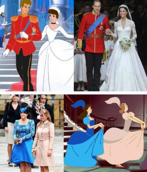 Royal Wedding Cinderella