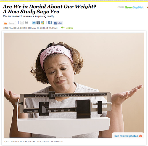 iVillage Never Say Diet Virginia Sole-Smith obesity