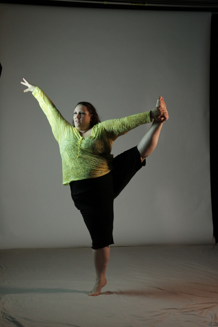 Ragen Chastein Dances With Fat Photo by Richard Sabel