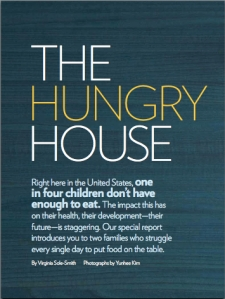 Parents Magazine Virginia Sole-Smith The Hungry House July 2011