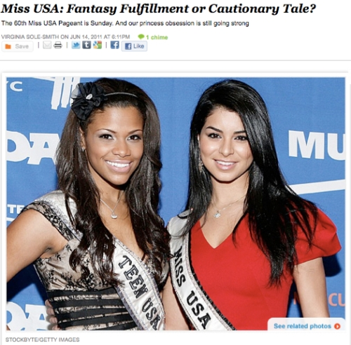 iVillage Never Say Diet Virginia Sole-Smith Miss USA Pageant