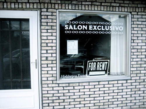 Beauty Salon For Rent Main Street USA Virginia Sole-Smith