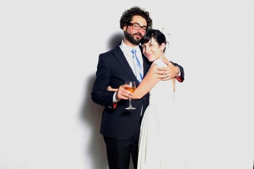 Kate & Jason Falchook Photobooth