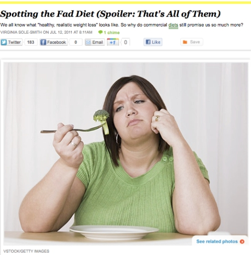 Virginia Sole-Smith iVillage Never Say Diet Fad Diets