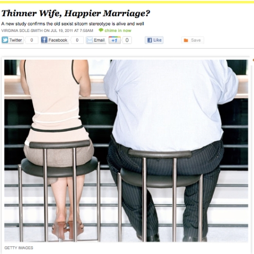 iVIllage Never Say Diet Virginia Sole-Smith Thinner Wife, Happier Marriage?