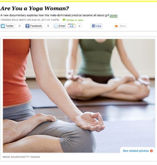 iVillage Never Say Diet Virginia Sole-Smith Yogawoman