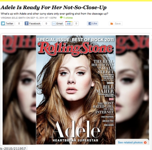 iVillage Never Say Diet Adele Close-Up VIrginia Sole-Smith