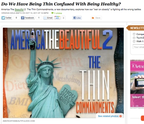 iVillage Never Say Diet America The Beautiful 2: The Thin Commandments Virginia Sole-Smith