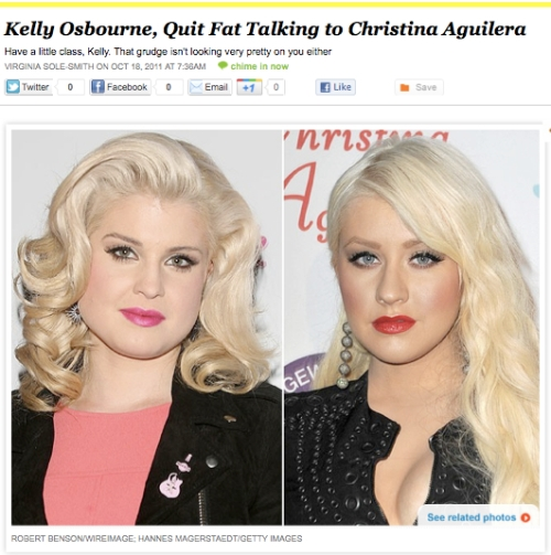 iVIllage Never Say Diet Virginia Sole-Smith Kelly Osbourne Christina Aguilera