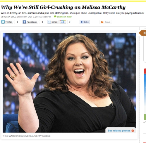 iVillage Never Say Diet Melissa McCarthy 2 Virginia Sole-Smith