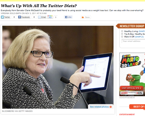 iVillage Never Say Diet Twitter Diets Virginia Sole-Smith