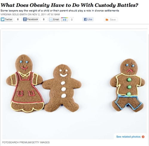 iVillage Never Say Diet Obesity Custody Battles