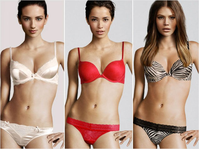 H&M Cyborg Lingerie Models